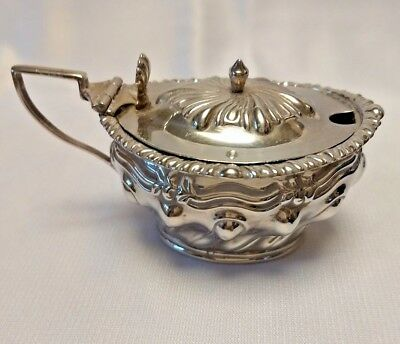 Sterling Silver Sugar Bowl -Bachelor Size