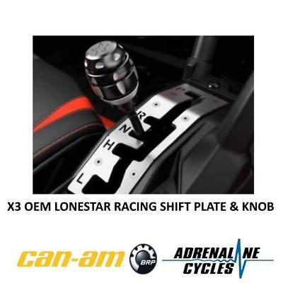 Can Am Maverick X3 shifter plate shift gate w/ knob OEM NEW #715004866