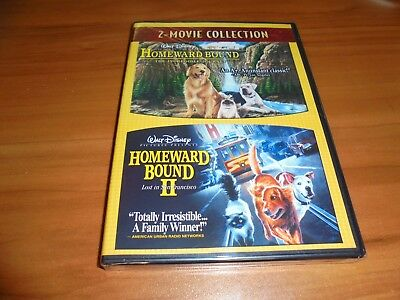 Homeward Bound:The Incredible Journey/II:Lost in San Francisco (DVD 2-Disc) NEW