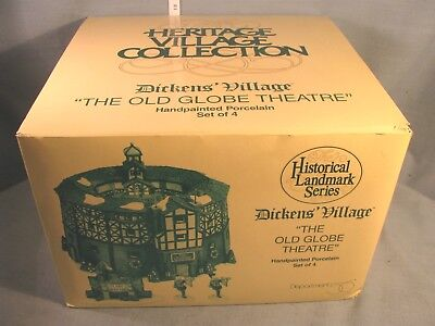 """Department 56 Dickens Village Series """"The Old Globe Theatre"""" #58501 - Retired"""