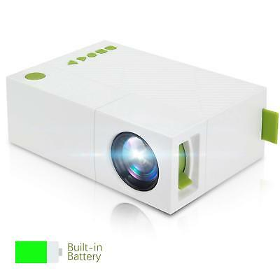 HD Projector LED Portable Home Theater Cinema System LCD 1080P 700 Lumens YG310