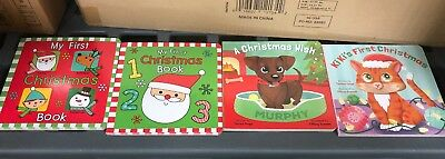 Babys First Christmas Books (Set Of 4)