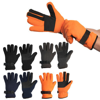 John Bartlett 3M Thinsulate Men Winter Gloves Insulated Fleece Cold Weather Snow