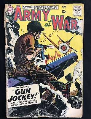 OUR ARMY AT WAR  #52  GD/2.0  -  4.0 Rare issue from 1959!