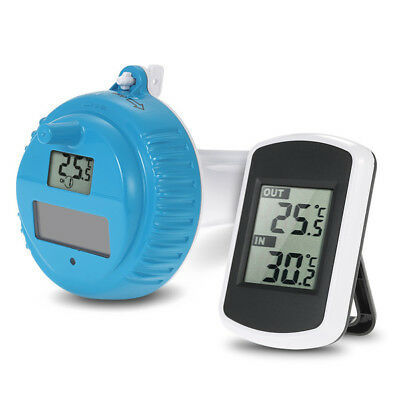 New Wireless Digital Floating Swimming Pool Thermometer Bath Spa Temperature Top