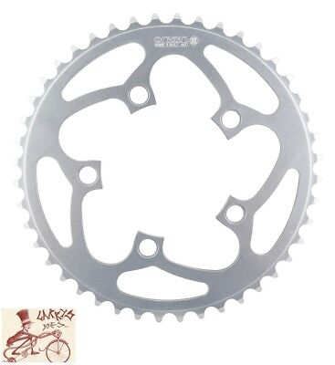 ORIGIN8 BLADE 130mm 5-BOLT 52T SILVER ALLOY BICYCLE CHAINRING