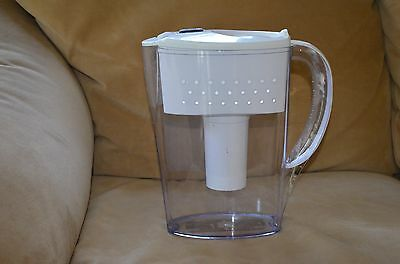 BRITA SPACE SAVER Water Filtration PITCHER White/Clear OB21/OB03