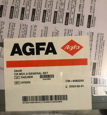 AGFA CASSETTE MD1.0F GENERAL 35X43cm (CM+6103920) WITH PLATE For Cr 10x And 15x