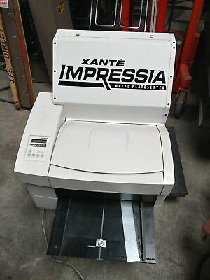 Xante Impressia Metal Plate Setter, 2006, Its Been Tested