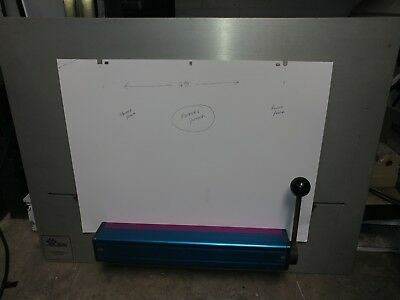 """Komori Plate Punch 16.75"""" C to C for Autoplate loading Sprint or Lithrone"""
