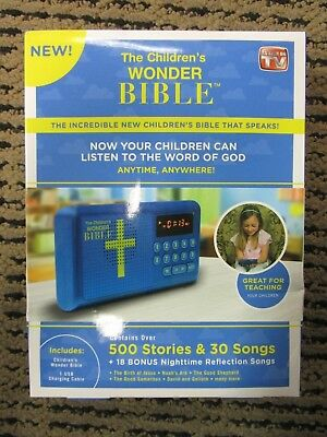 The Children's Wonder Bible As Seen On TV WB061124 BRAND NEW