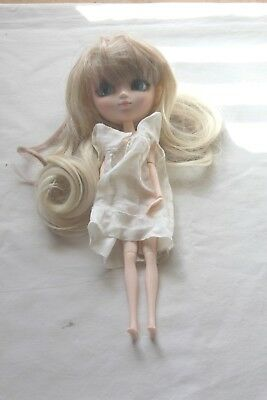 Sailor Moon Chibi Moon Chibi Type Doll Bandai Blonde Hair White Dress
