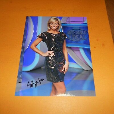 Tiffany Coyne is an American model and dancer Hand Signed 8 x 10 Photo