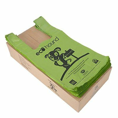 Ecohound Biodegradable Dog Waste Bags 1000 / Eco Friendly Poo Bags Unscented