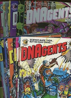 DNAgents 1-24 [COMPLETE SERIES] *24 Bks* 1983-85 Eclipse! Will Meugniot! Evanier