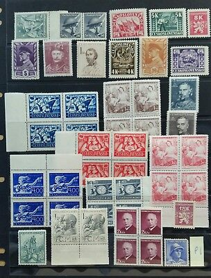 Czech stamps MINT/MH/MNG3 Photos