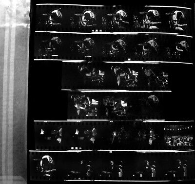1971 Led Zeppelin Madison Sq Garden Concert 26 Photo Negatives & Contact Photo