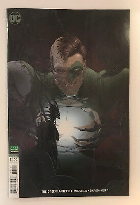 DC The Green Lantern #1 Frank Quitely Variant Cover 2018 Comic