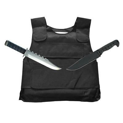Stab Proof Anti-stab Body Back Tactical Armour Vest Guard Jacket Protective Safe