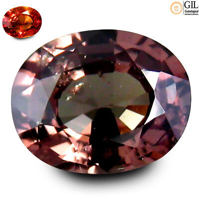 "2.17 ct ""GIL"" CERTIFIED LUSTROUS 100% NATURAL COLOR CHANGE GARENT"