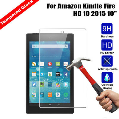 For Amazon Kindle fire 7 HD 8 HD 10 Tablet Tempered Glass Screen Protector Film