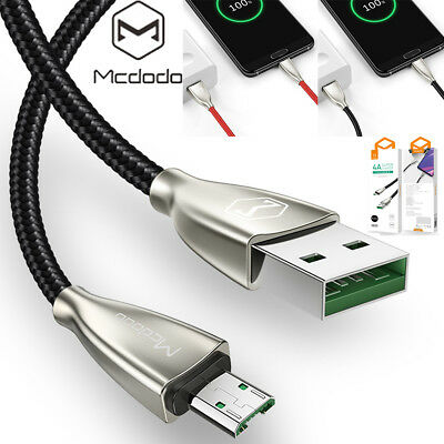 Mcdodo Micro USB Heavy Fast Charging Sync Charger Cable Samsung S7 S6 Android LG