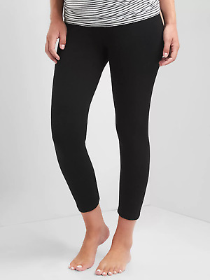NWT-Gap Black Pure Body Full Panel Capri-L