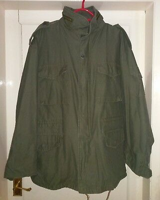 Brand New USA Army Military M65 Style Field Combat Outdoor Jacket XL FREE P&P