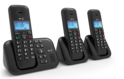 BT3960 Trio Cordless Telephone with Answer Machine