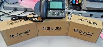 SHORETEL IP 480G VoIP Phone - Black (NEW) - $239 95 | PicClick