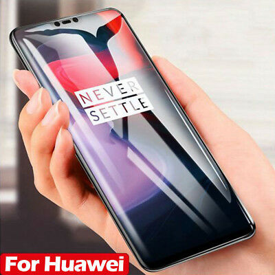 For HUAWEI P20 Pro Lite P Smart 5D Curved Tempered Glass Film Screen Protector