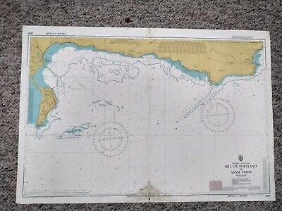 Nautical Chart No. 2610 Bill of Portland to Anvil Point