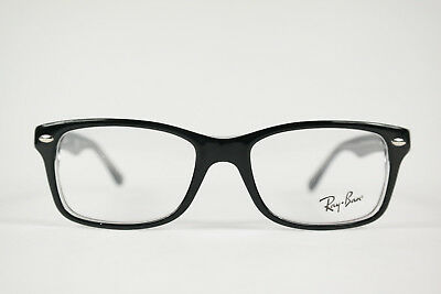 Ray Ban RB 1531 3529 48 16 130 Noir Ovale Monture Lunettes Neuf h1 b29ef6474394