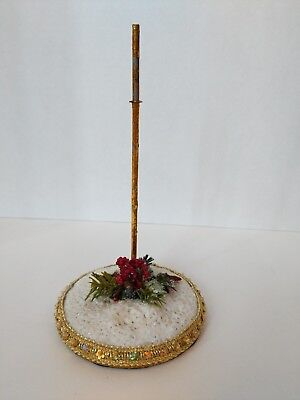 """Mark Roberts Collection Winter Display Stand for Fairy or Elf 7.5"""" Tall Elves"""