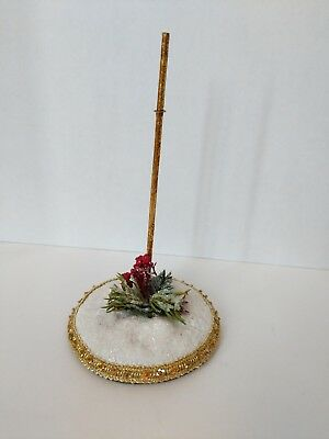 """Mark Roberts Collection Winter Display Stand for Small Fairy or Elf Elves 7.5"""""""