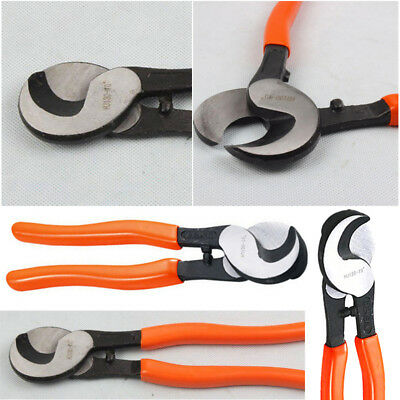 AU Newly 22cm Copper Cable Cutter Wire Heavy Duty Cutting Pliers Cut Up To 70mm