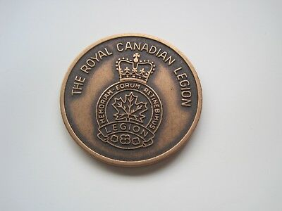 Medaille The Royal Canadian Legion, 31mm,ca.16gr.  #4242