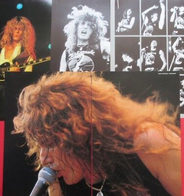 Whitesnake David Coverdale John Sykes 1984 Clipping Japan Photo Book Ma2 6Page
