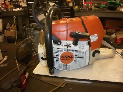 STIHL MS 661 C MAGNUM Chainsaw Power Head Only low hours nice clean saw
