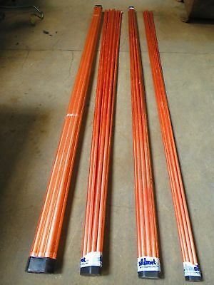 Joblot Of Copper Pipe 30 X 22Mm And 10 X 15Mm 3M Lengths New Clean Tube Plumbing
