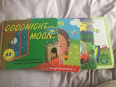 Baby / Toddler Books X4