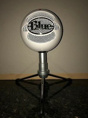 Blue Snowball pro vlogging microphone (used - good condition)