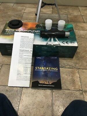 GeerTop F4007 UltraClear Quality Astronomical Refractor Telescope & Tripod NEW