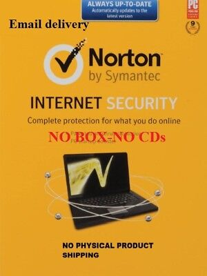 Norton Internet Security 2019 version 1 Year / 1 PC - Activation Key