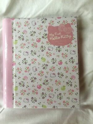 My First Hello Kitty Baby Record Book - New, sealed