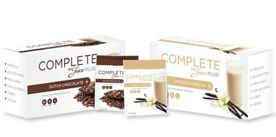 5 Juice Plus + Complete Protein Shake Single Serving Dutch Chocolate and Vanilla