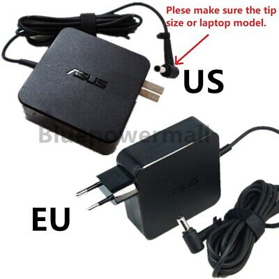 Original ASUS 45W 65W AC Adapter Charger ADP-65DW ADP-65GD ADP-45BW 5.5x2.5mm