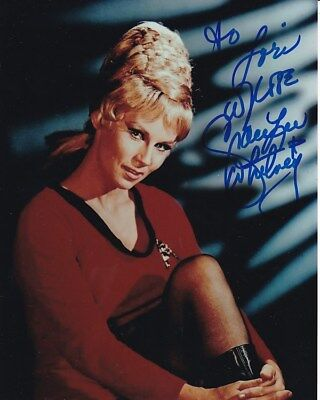 GRACE LEE WHITNEY Autographed Signed STAR TREK Photograph - To Lori