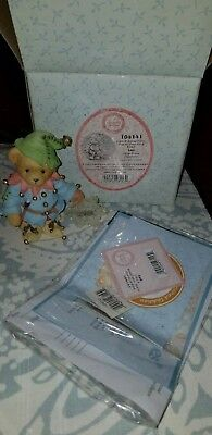 Cherished Teddies Ian Like A Snowflake You're One Of A Kind Jack Frost Datd 2002