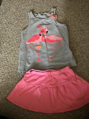 Lovely Girls Skirt And Top, Age  2 Years